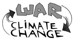War leads to climate change which leads to war