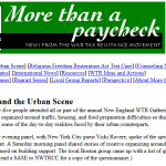 More Than a Paycheck newsletter online, originally printed December 1996