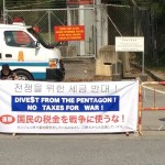 Divest from the Pentagon! No taxes for war!