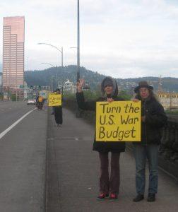 Turn the U.S. War Budget Upside Down!