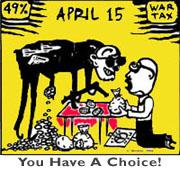 """(""""April 15"""" artwork by Doug Minkler)"""