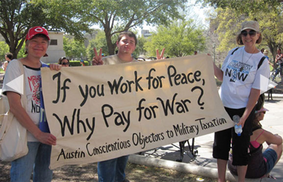 If You Work For Peace, Why Pay For War?