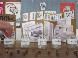 Penny poll at Austin, Texas, high school