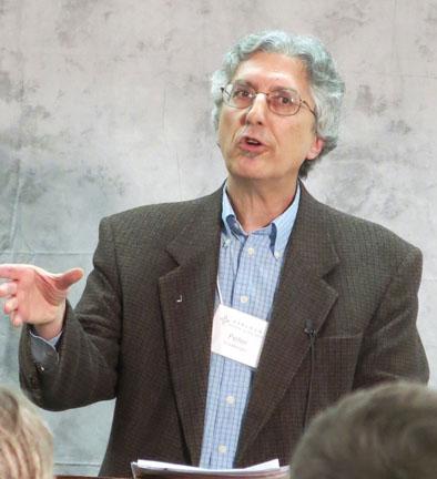 Peter Goldberger at Earlham College