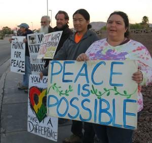Vigil at Nellis Nov 2015
