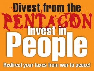 divest from the Pentagon, invest in people