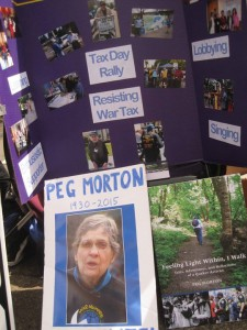 an exhibit of photos from the life of Peg Morton