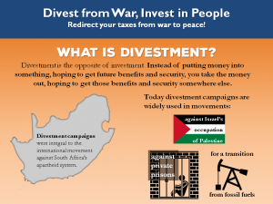 slide from the Divest from War, Invest in People presentation. for full text, see the infographic at https://nwtrcc.org/2016/04/13/infographic-invest-people-divest-pentagon/