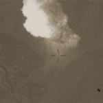 "still from video of ""Mother of All Bombs"" being dropped on Afghanistan, April 13, 2017"
