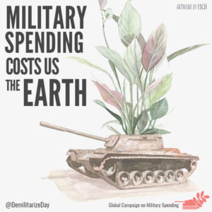military spending costs us the earth