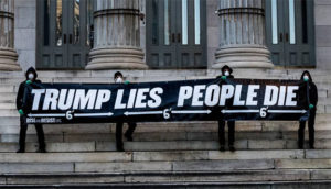 trump lies Rise and Resist