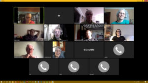 NYC WRL online meeting