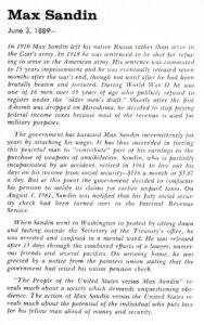 Max Sandin profile