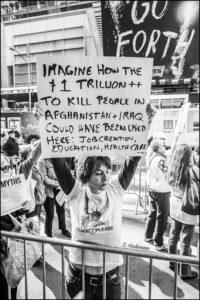 10th anniversary protest 2011